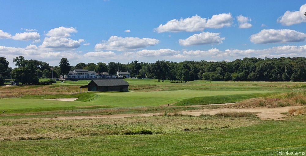 A look at the 9th from the side. Photo Credit: Jon Cavalier  @linksgems