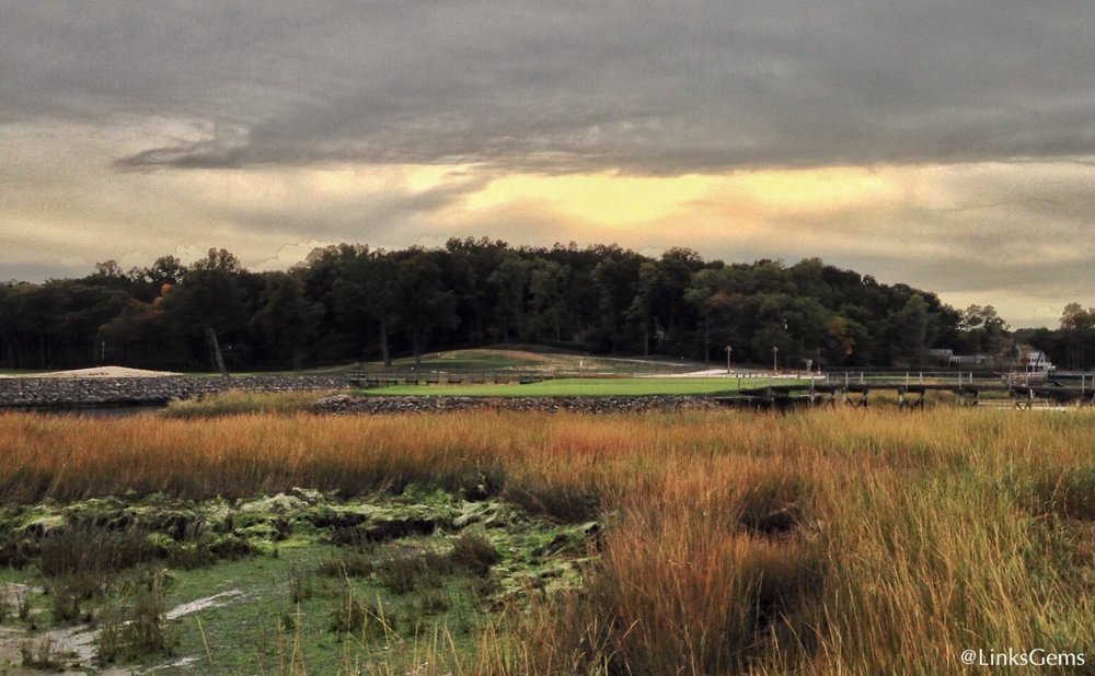 The 11th hole at the Creek Club. Photo Credit: Jon Cavalier  @linksgems
