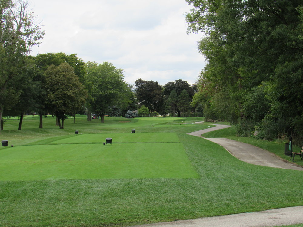 The 16th hole at Mt. Prospect Golf Club