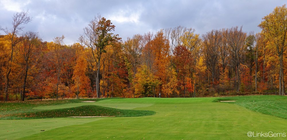 The biarritz hole at Somerset Hills. Photo Credit: Jon Cavalier  @linksgems
