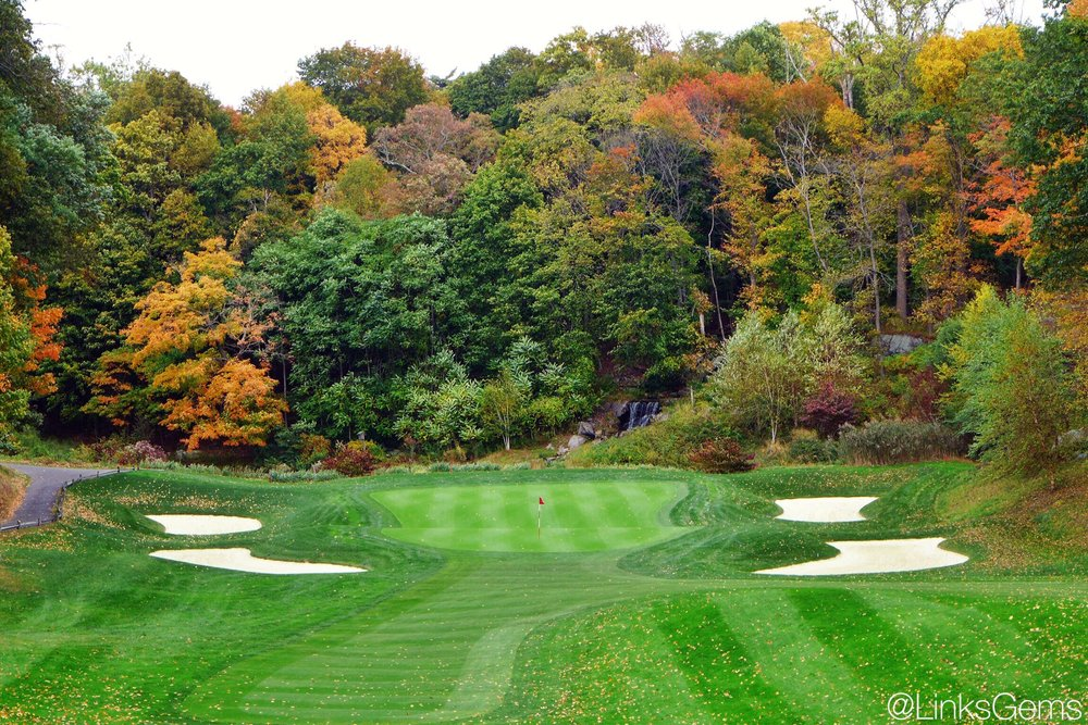 The 8th hole at Charles Banks' Whippoorwill Photo Credit: Jon Cavalier  @linksgems