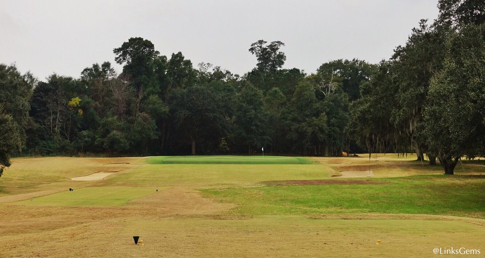 The 16th at Yeamans Hall. Photo Credit: Jon Cavalier @linksgems