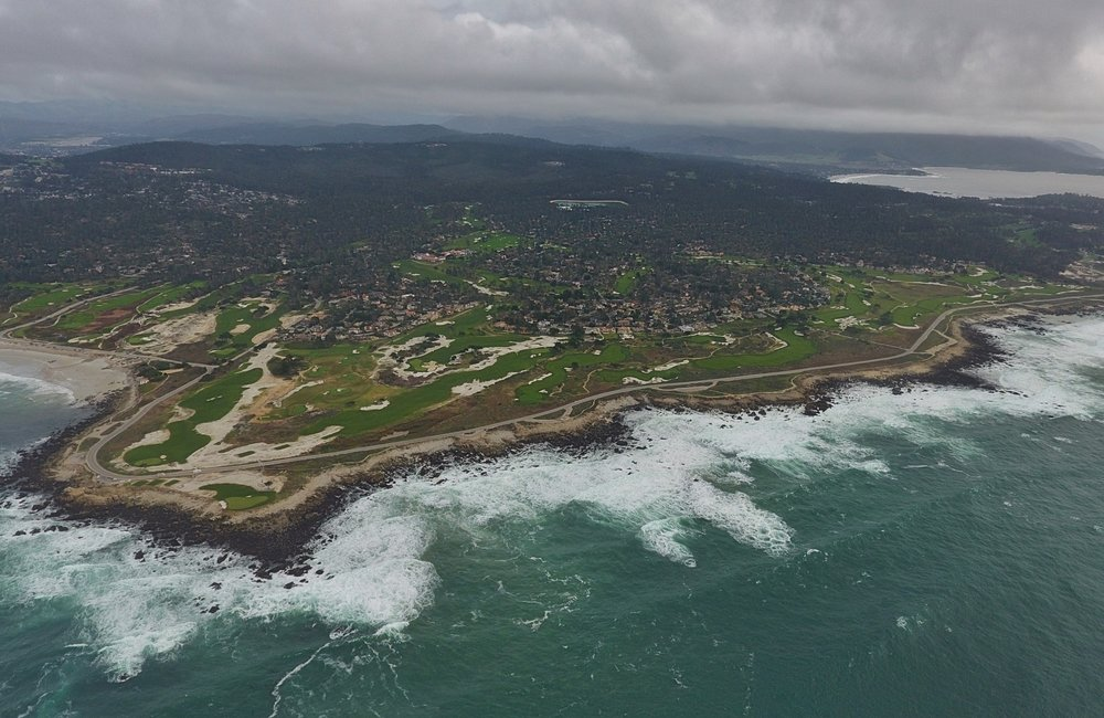 An aerial of MPCC's Shore Course Photo Credit: Jon Cavalier @linksgems