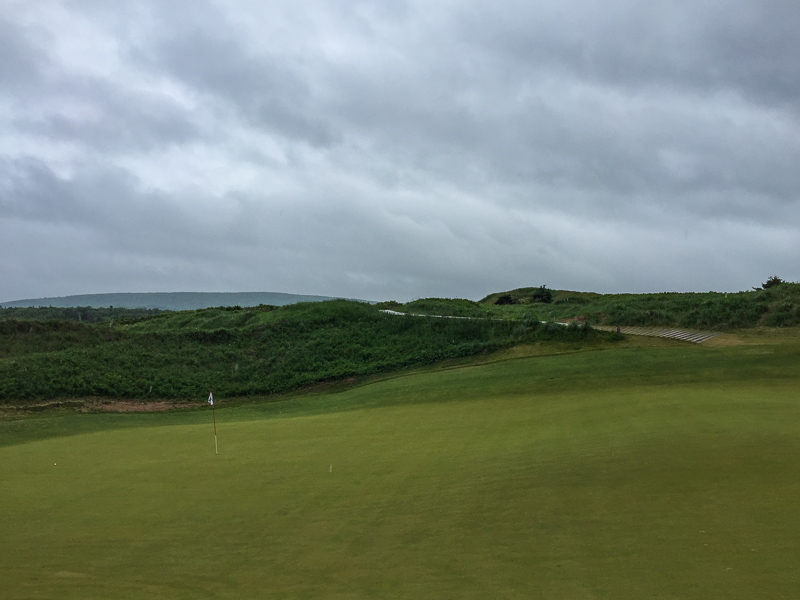 The 5th green. Photo Credit: Christian Hafer  @hafe_life