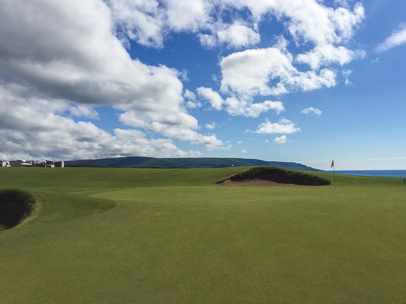 The 18th green. Photo Credit: Christian Hafer  @hafe_life