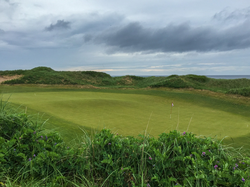 The diabolical 6th green. Photo Credit: Christian Hafer  @hafe_life