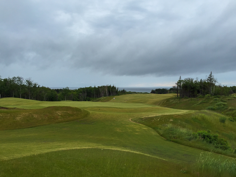 A look at the 7th green from behind. Photo Credit: Christian Hafer  @hafe_life