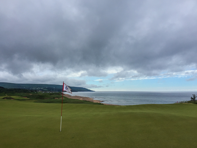 The look at the undulating 9th green. Photo Credit: Christian Hafer  @hafe_life