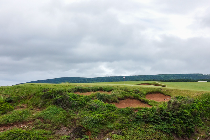 The rugged 10th green. Photo Credit: Christian Hafer  @hafe_life