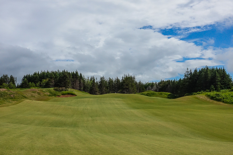 The rolling 13th fairway. Photo Credit: Christian Hafer  @hafe_life