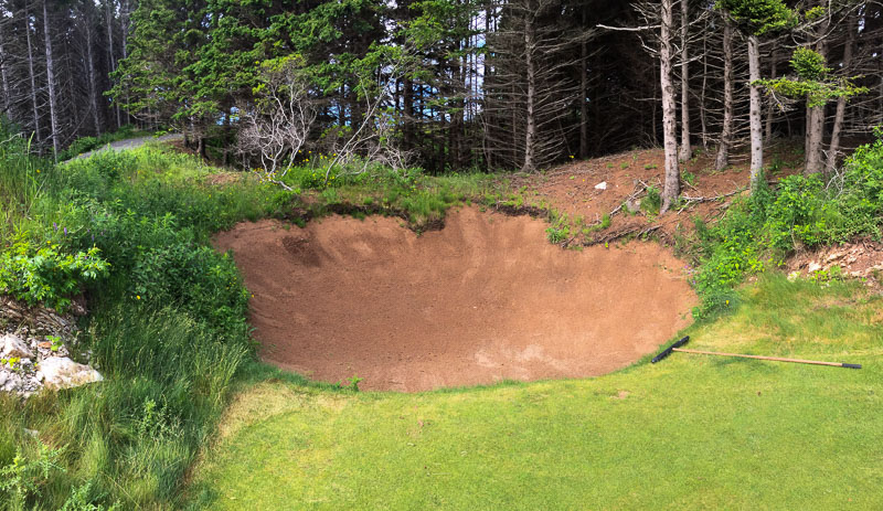The nasty yet beautiful bunkering. Photo Credit: Christian Hafer  @hafe_life