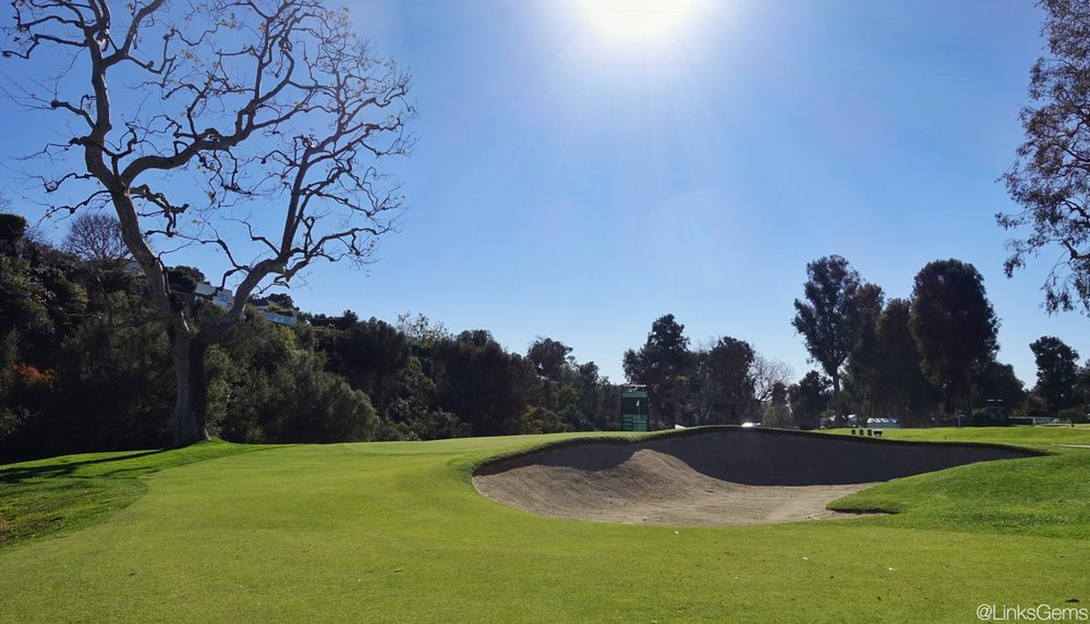 The deep front bunker on the 12th. Photo Credit: Jon Cavalier @linksgems