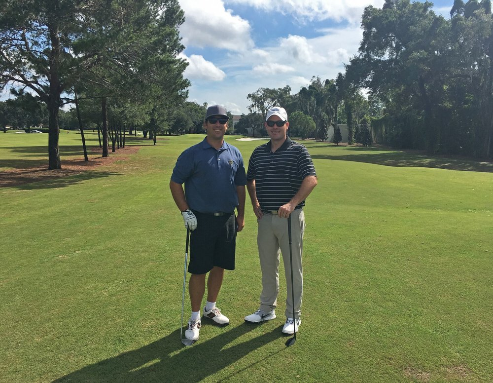 Winter Park G.C.'s architects Riley Johns and Keith Rhebb