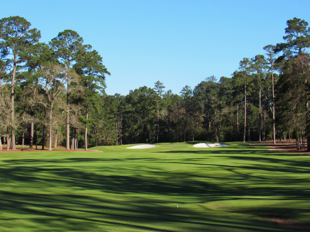 The second shot at Bluejack's par 5 2nd