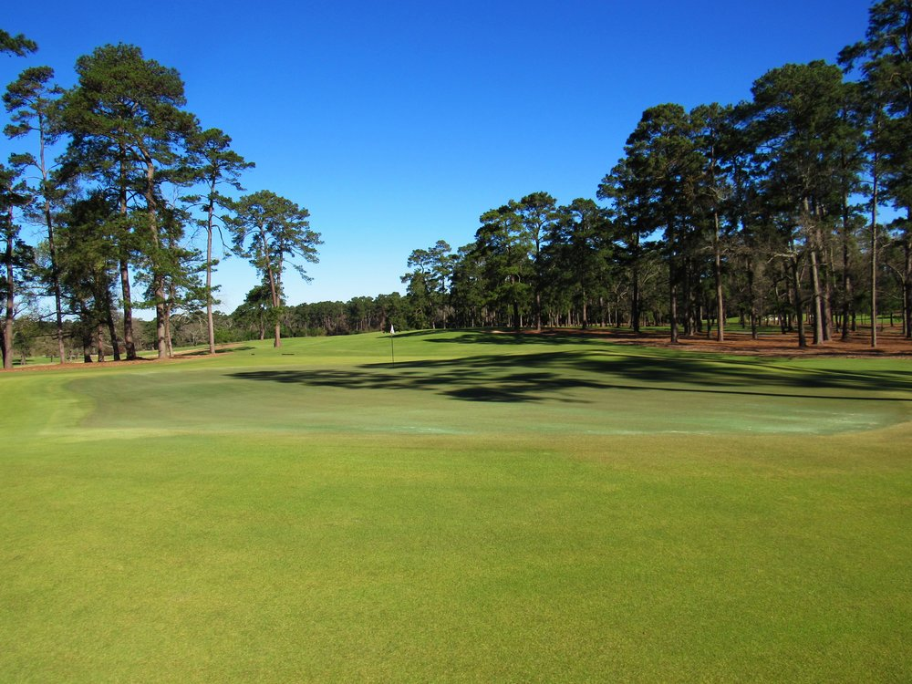 Looking back from the behind Bluejack's 4th.