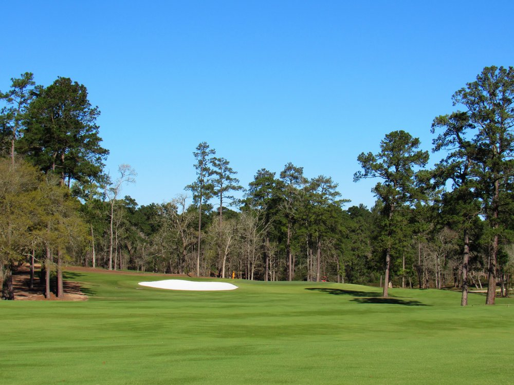 The approach to Bluejack's par 5 5th.