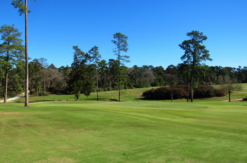 Left of Bluejack's 5th green.