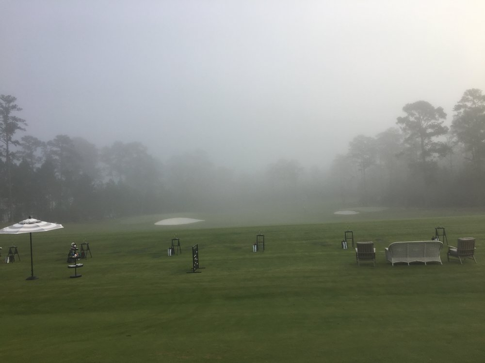 The fog that came over the range