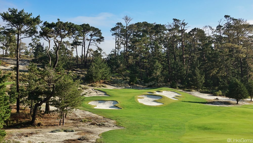 The strategic & natural bunkering at Cypress Point