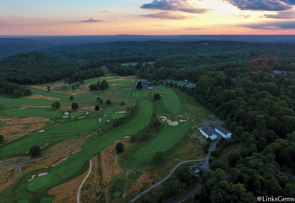 Tillinghast's Great Hazard at Somerset Hills Credit: @linksgems