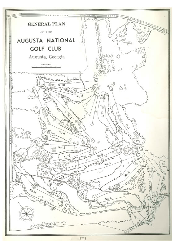 Original routing plan for ANGC Credit: Simon Haines