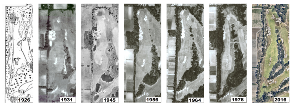 How Kingston Heath's 12th hole has changed over the years with different architects influence.