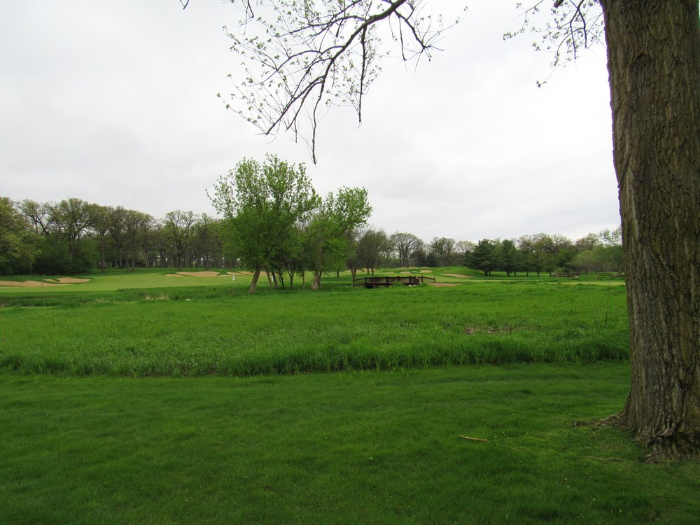 A look at the split fairway