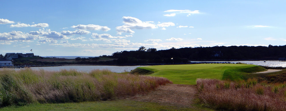 The great eden hole 11th at Fishers. Photo Credit: Jon Cavalier @linksgems