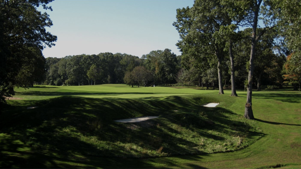 The beautiful 17th at North Shore CC Photo Credit: The Bausch Collection at MyPhillyGolf.com
