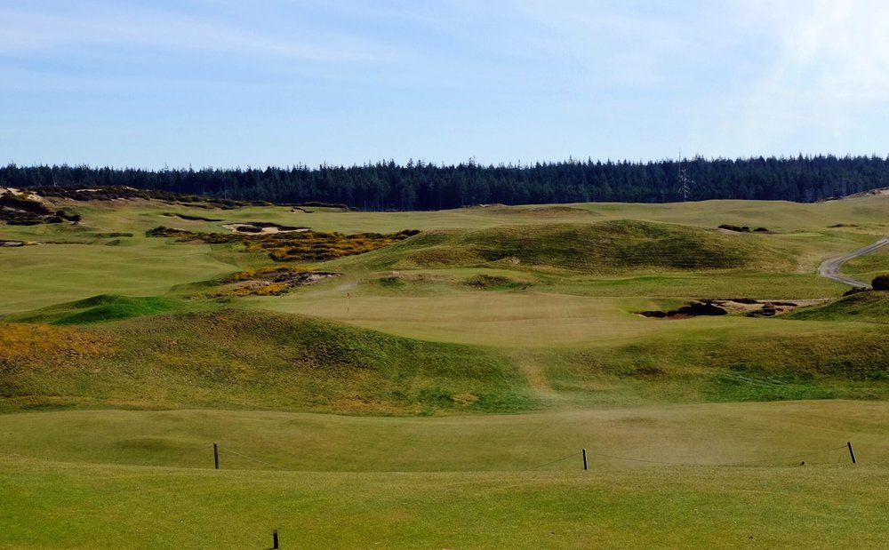 The 8th at Old Macdonald. Photo Credit: Jon Cavalier  @linksgems