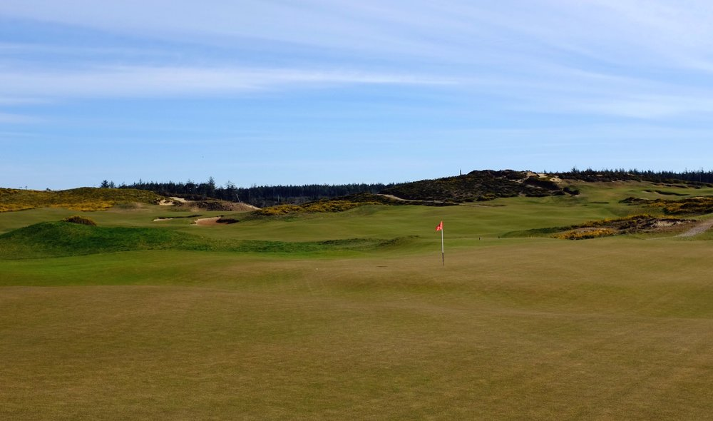 Looking back at the 8th green Photo Credit: Jon Cavalier  @linksgems