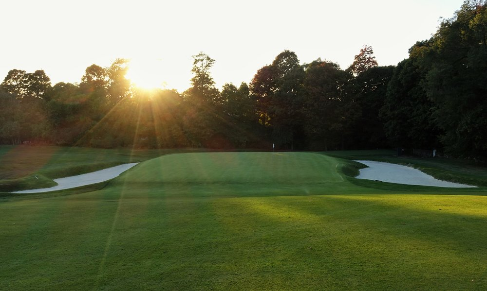 Short of the 7th green shows the undulation that will kick shots up to the green. Photo Credit: Jon Cavalier  @linksgems