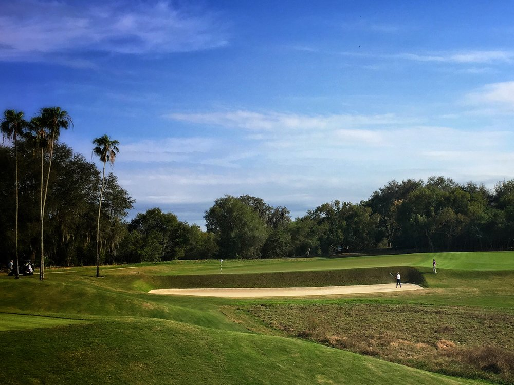 The scale of the 11th at Mountain Lake GC
