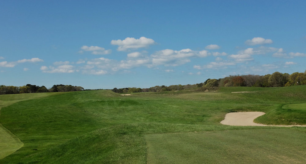 A look at the 7th at NGLA. Photo Credit: Jon Cavalier @linksgems