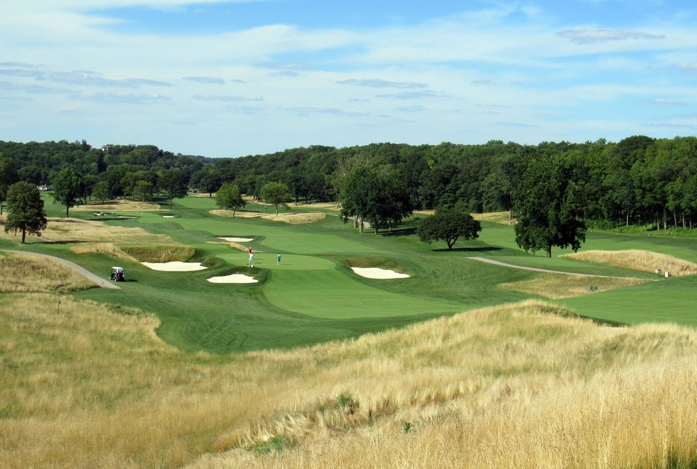 16th green from 15 tee.JPG