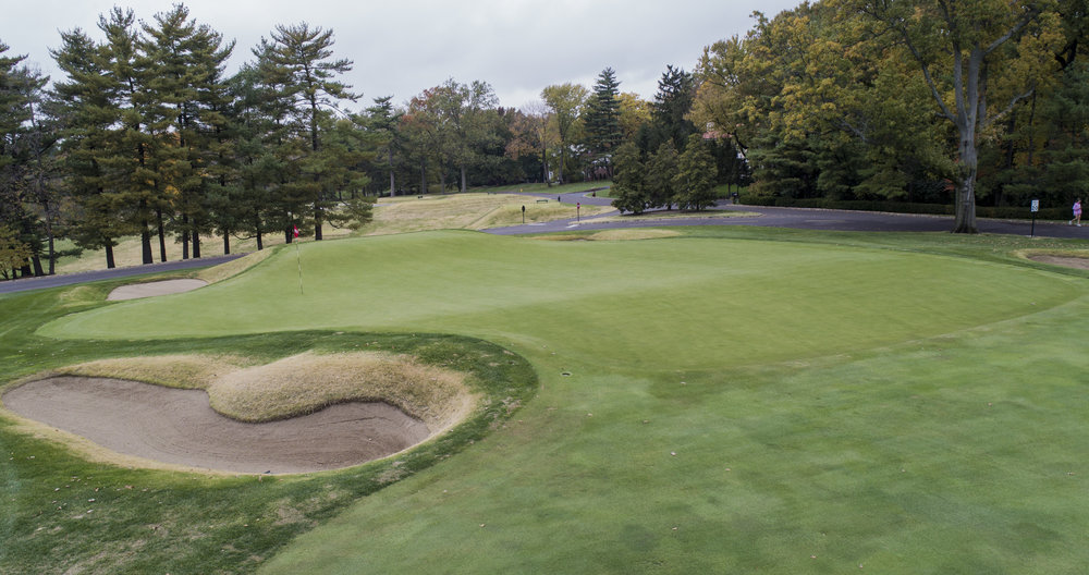 The front and back pin positions prove particularly difficult at SLCC's 15th.