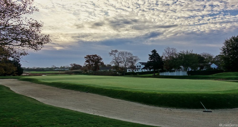 From the left side of Westhampton's 17th. Photo Credit: Jon Cavalier  @linksgems