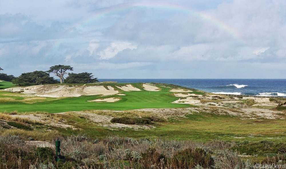 The 14th at Cypress Point Club. Photo Credit: Jon Cavalier  @linksgems