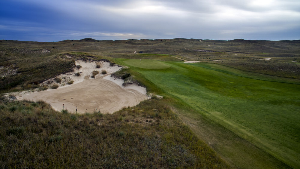 The 4th at Sand Hills Golf Club