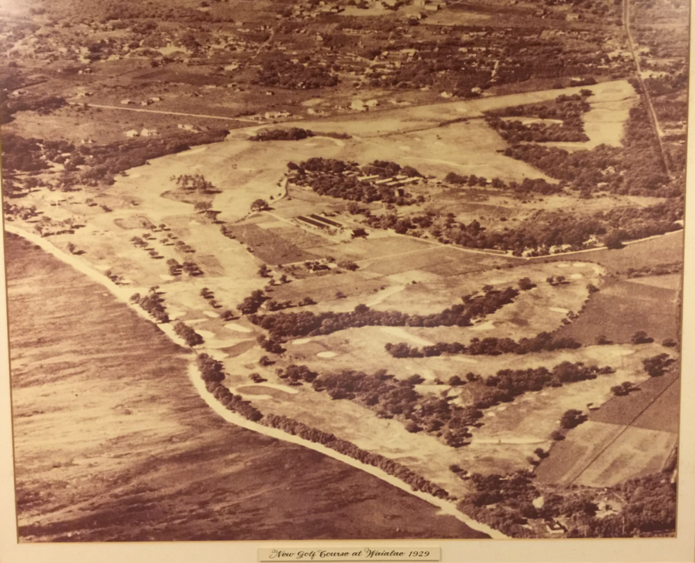 The 1929 layout of Waialae Photo Credit: Zac Blair @z_blair