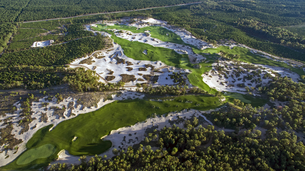 Mammoth Dunes at Sand Valley uses way too much sand in Tommy Raynor's opinion.