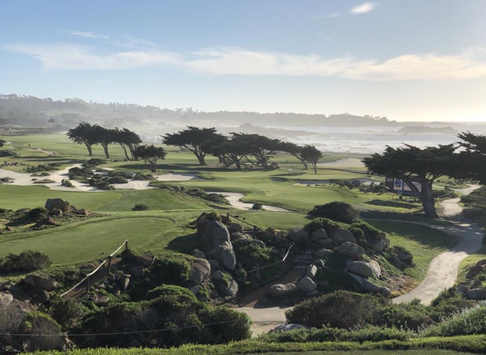 The Monterey Peninsula C.C.'s Shore Course Photo Credit: Zac Blair @z_blair