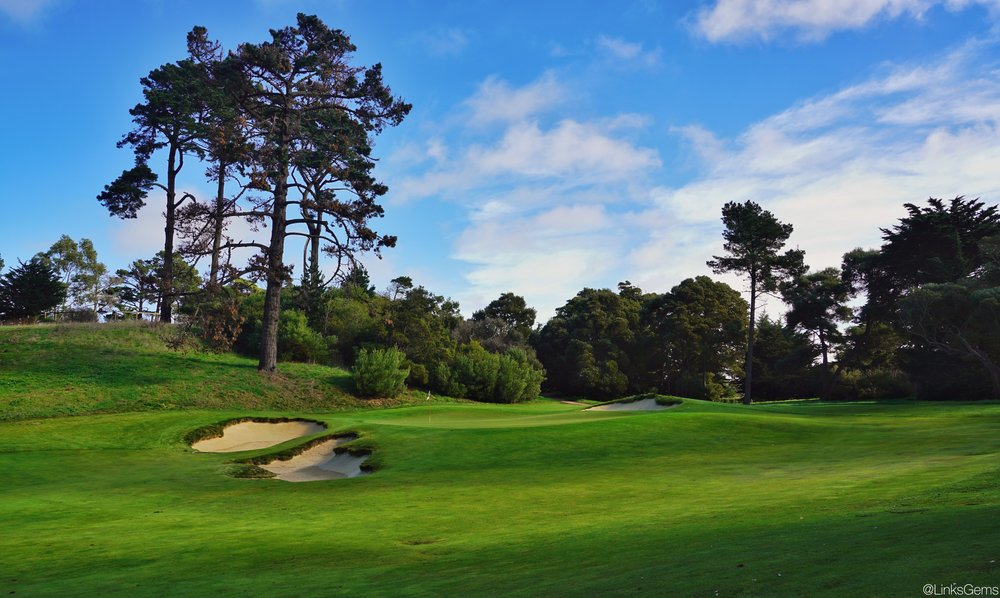Short and right of the short par four 5th provides an ideal angle to the green. Photo Credit:  @linksgems