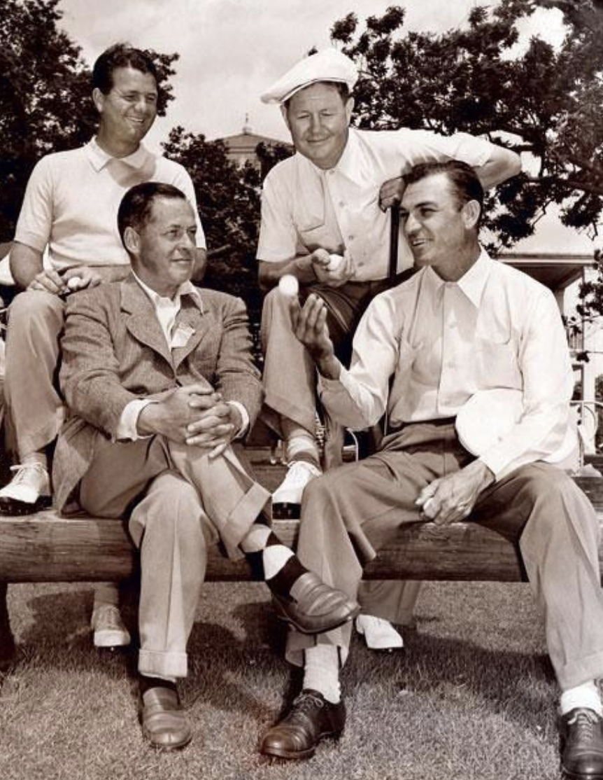Jimmy Demaret, Byron Nelson, Bobby Jones, Ben Hogan