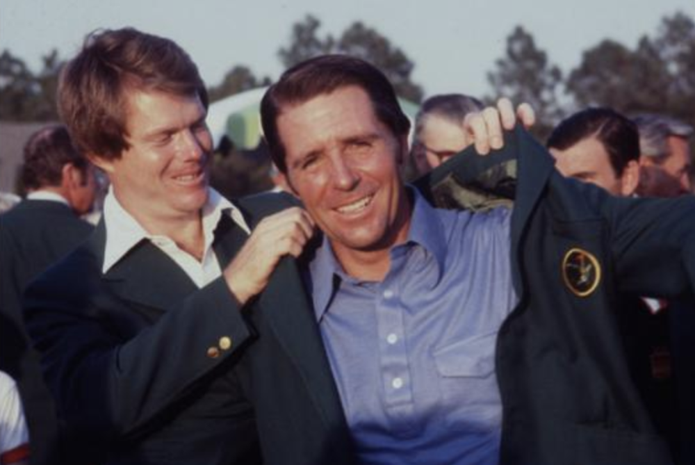 Gary Player after winning the 1978 Masters Photo Credit: Augusta.com