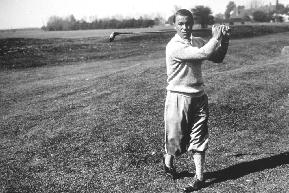 Gene Sarazen at Augusta National