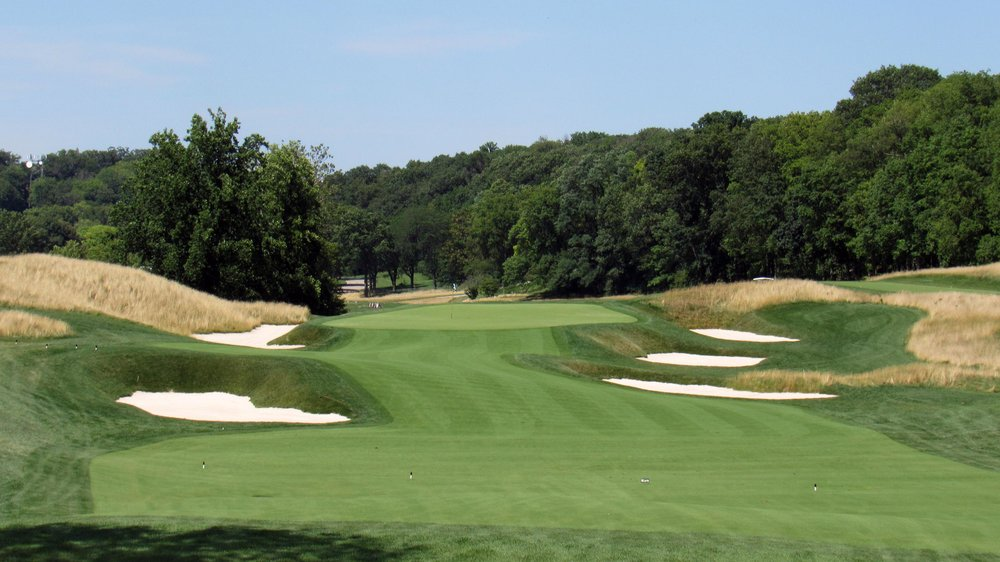 The 7th at Moraine CC a recent Keith Foster restoration