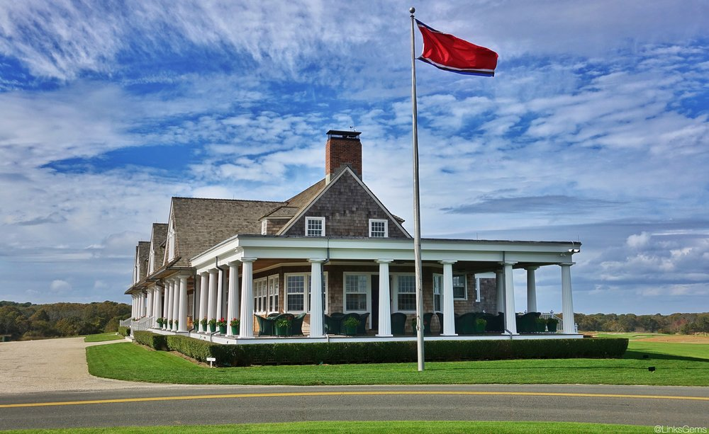 Shinnecock Hills' historic clubhouse