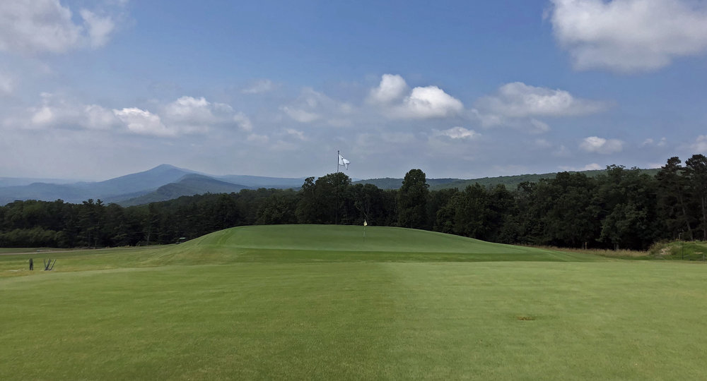 The famed Alps hole at Lookout Mountain
