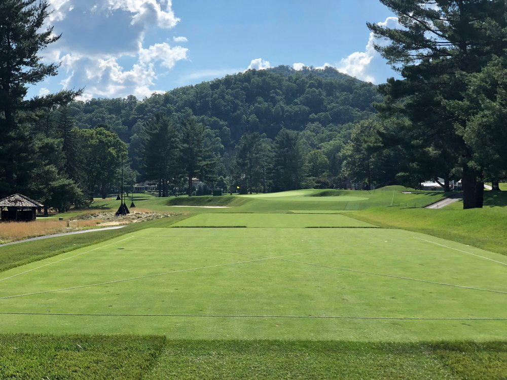 The 8th hole at Greenbrier's Old White Course. Photo Credit: Zac Blair